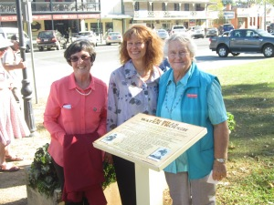 Kay Ball, Karen Winter - President MAG and Gloria Polkinghorne